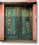 Colorful Doors Antigua Guatemala Metal Print