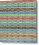 Colorful Dots N Mini Circles In Line Patterns With Background Textures Fineartamerica.com Licensing  Metal Print