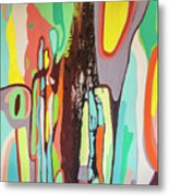 Colorful Earth Day Metal Print