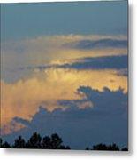 Colorful Evening Sky Metal Print
