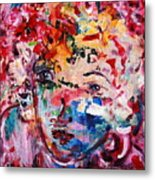 Colorful Expression 12 Metal Print