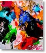 Colorful Expression 13 Metal Print