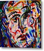 Colorful Expression-8 Metal Print