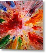 Colorful Expression-9 Metal Print