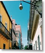 Colorful Facades Metal Print