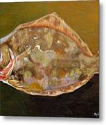 Colorful Flounder Metal Print