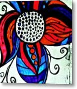 Colorful Flower Metal Print