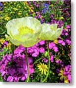 Colorful Garden II Metal Print