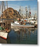 Colorful Harbor Metal Print