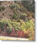 Colorful Hills Metal Print