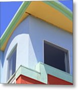 Colorful House In San Francisco Metal Print