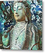 Colorful Indian Diety Figure Metal Print