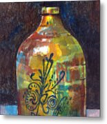 Colorful Jug Metal Print