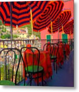 Colorful Lunchtime. Metal Print