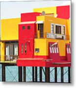 Colorful Mexico Metal Print
