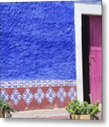 Colorful Mexico Metal Print