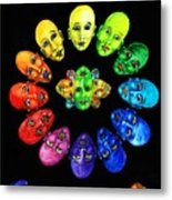 Colorful Minds Metal Print