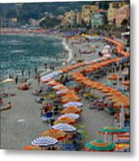 Colorful Monterosso Metal Print