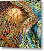 Colorful Nets And Float Metal Print