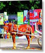 Colorful New Orleans Metal Print