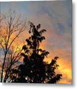 Colorful Nightfall Metal Print