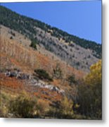 Colorful Orient Canyon - Rio Grande National Forest Metal Print