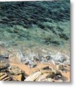 Colorful Pacific Ocean Metal Print