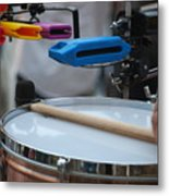 Colorful Percussion Metal Print