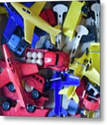 Colorful Plastic Toys #1 Metal Print