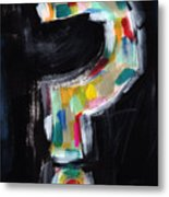 Colorful Questions- Abstract Painting Metal Print
