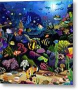 Colorful Reef Metal Print