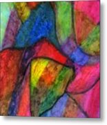 Colorful Refractions Metal Print