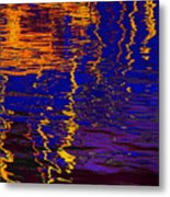 Colorful Ripple Effect Metal Print
