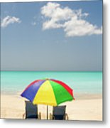 Colorful Shade Metal Print