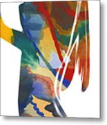 Colorful Shape Metal Print