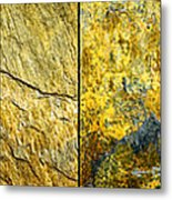 Colorful Slate Tile Abstract Composite H2 Metal Print