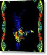 Colorful Slide Playing Metal Print