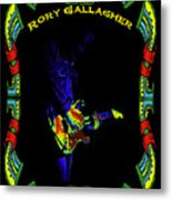 Colorful Slide Playing By Rory Metal Print