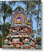 Colorful Temple, Valparai Metal Print