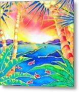 Colorful Tropics 12 Metal Print