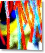 Colorful Tubes Metal Print
