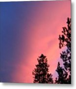 Colorful Twilight Time Metal Print