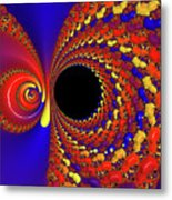 Colorful Vortex Metal Print
