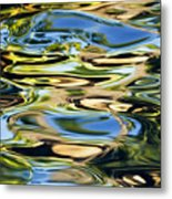 Colorful Water Ripples Metal Print by Dave Fleetham - Printscapes