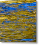 Colorful Water Surface Metal Print