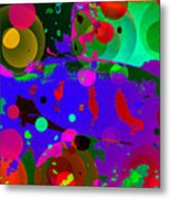 Colorful World Of A Fish Metal Print