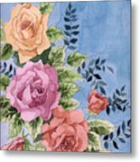 Colorfull Roses Metal Print