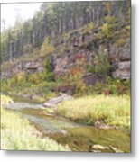 Coloring Brook Metal Print