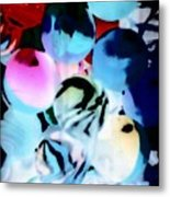 Colors 4 Metal Print