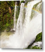 Colors Above The Water Metal Print